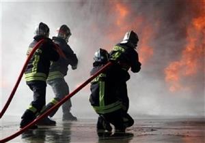 السيطرة على حريق بسبب الألعاب النارية في الوادي الجديد