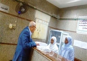بالصور.. محافظ أسوان يتفقد مستشفى دراو المركزي