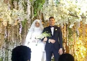 بالصور.. حفل زفاف رمضان صبحي على حبيبة إكرامي