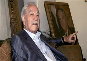 وفاة العماد مصطفى طلاس وزير الدفاع السوري السابق في فرنسا