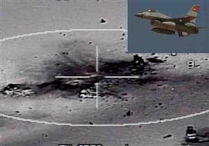 القوات المسلحة تنشر فيديو للحظة تدمير سيارات مهربي الأسلحة على الحدود الغربية