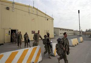 إغلاق قاعدة عسكرية أمريكية إثر إطلاق نيران