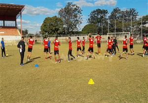 التدريب الأول للأهلي في زامبيا استعدادا لمواجهة زاناكو بدوري الأبطال
