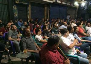 جماهير مصر تتابع مباراة الأهلي والوداد المغربي
