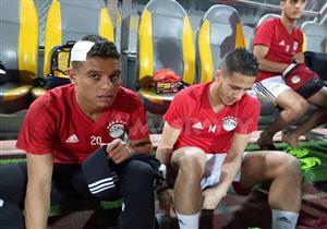 تدريب منتخب مصر استعداداً لمباراة تونس بتصفيات أمم افريقيا