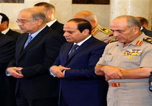 الرئيس السيسي يؤدي صلاة عيد الأضحى بمسجد محمد كريم بالإسكندرية