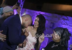 بالصور - مجدى الجلاد يحتفل بخطوبة ابنته سما بحضور نجوم الفن والإعلام
