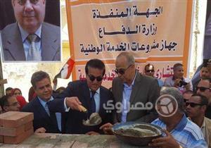 بالصور - وزير التعليم العالي يعيد افتتاح 3 مشروعات في جامعة بنها تم افتتاحها  من قبل