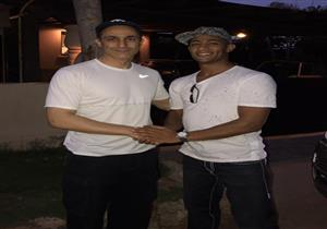 """صورة لمحمد رمضان مع جمال مبارك تثير الجدل.. و""""الأسطورة"""" يرد"""