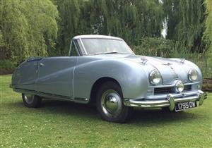 بالصور.. إحدى سيارات الملك فاروق للبيع بـ50 ألف جنيه استرليني