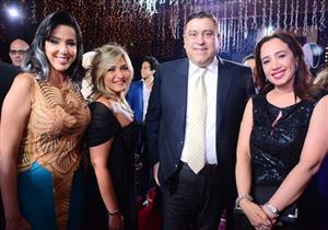 بالصور- نجوم الفن يحتفلون بزفاف نجلة الموسيقار أمير عبدالمجيد