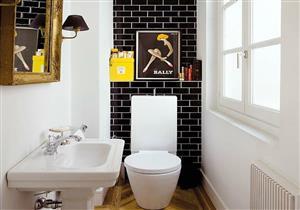 """بالصور.. هكذا تستغل مساحة """"حمامك"""" الصغير"""