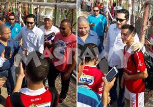 مصراوي يكشف تفاصيل نجاح نجل علاء مبارك فى اختبارات الأهلي (صور)