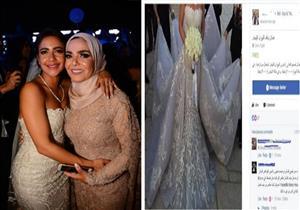 """منى عبدالغني توضح لـ """"مصراوي"""" حقيقة بيع فستان زفاف ابنتها"""