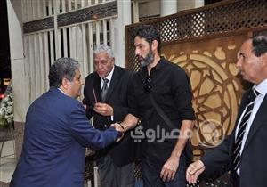 بدء مراسم عزاء الفنان عمرو سمير