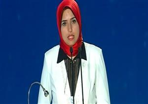 مؤتمر الشباب.. فتاة تطرح مبادرة للقضاء على الإرهاب وسط تصفيق الحضور