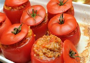 طبق اليوم.. محشي الطماطم بالتوابل