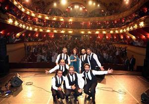 """بالصور- نسمة محجوب تحتفل بالعيد القومي لـ""""الإسكندرية"""" على مسرح سيد درويش"""