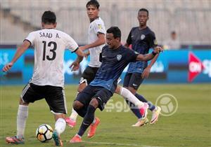 مباراة الهلال السعودي والنفط العراقي بالبطولة العربية