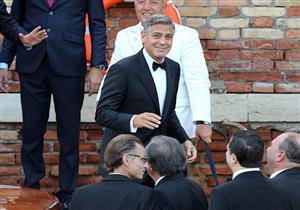 """جورج كلوني في مهرجان فينسيا بـ"""" """"سابوربيكون"""""""