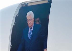 الرئيس الفلسطيني يصل باريس للقاء نظيره الفرنسي