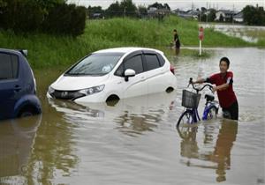 مقتل شخص على الأقل بسبب الأمطار في اليابان