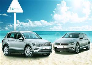 """فولكس فاجن تستغل """"حر الصيف"""" لعرض سياراتها بالساحل"""