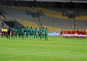 50 صورة ترصد مباراة الأهلي والقطن في دوري الأبطال