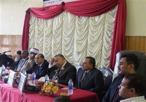 """بالصور.. """"شومان"""" و""""الشريف"""" و""""باخوم"""" يكرمون 33 متفوقًا أزهريًا في سوهاج"""