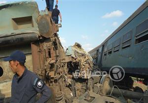الصحة: ارتفاع عدد ضحايا حادث قطاري الإسكندرية إلى 21 قتيلًا و109 مصابين حتى الآن