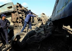 الصحة: ارتفاع عدد ضحايا حادث قطاري الإسكندرية إلى 37 قتيلًا و123 مصابًا