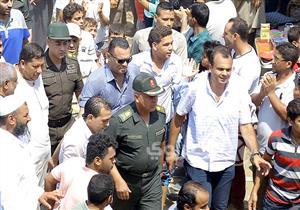 """كامل الوزير يعرض حلاً لأزمة جزيرة الوراق:""""شقق بديلة بالإسكان الاجتماعي""""- صور"""