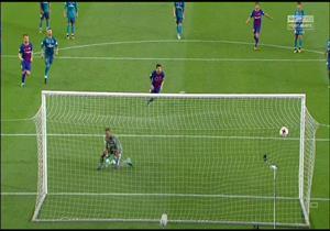 هدف ميسي في شباك ريال مدريد من ضربة جزاء