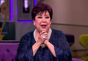 رجاء الجداوي تروي موقف كوميدي جمعها بزوجها حسن مختار خلال تشجيعها له