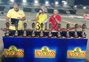 عماد بارو الفائز بمنافسات أوتوكروس مارينا  2017 لسباقات السرعة