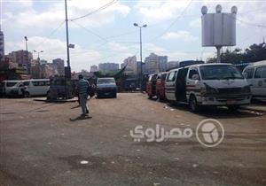 بالصور- كيف استغل سائقو الميكروباص حادث قطاري الإسكندرية