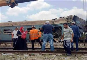 """من القضبان إلى المشرحة.. 4 مشاهد إنسانية لأبطال مجهولين في حادث قطاري الإسكندرية - """"صور"""""""