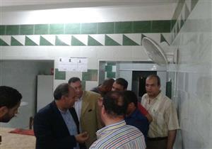"""في جولة مفاجئة.. محافظ الإسكندرية يتفقد مستشفى """"الماترنتية"""" ويكلف بزيادة نسبة إشغالها"""