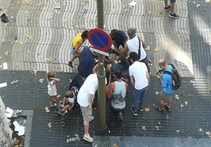 """سفير مصر بإسبانيا: لا يوجد """"مصريين"""" ضمن ضحايا حادث الدهس في برشلونة - فيديو"""