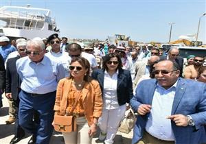 وزيرة الاستثمار تفتتح أول مصنع لإنتاج لمبات الليد في جنوب سيناء