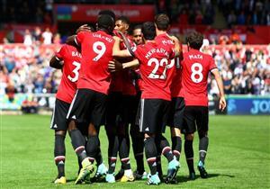 أهداف (سوانزي سيتي 0 - مانشستر يونايتد 4) الدوري الإنجليزي