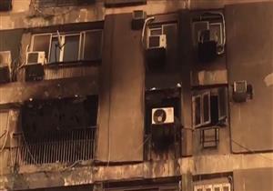 المعاينة: جهاز تكييف وراء حريق بمبنى مباحث الآداب والأسواق الحرة بالمهندسين