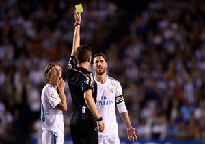 طرد راموس ضد ديبورتيفو لاكورونيا في الدوري الإسباني