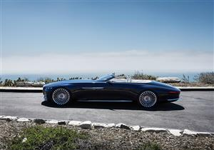 """بالفيديو.. مرسيدس تكشف عن مايباخ 6 كابريو الاختبارية في """"Car Week"""""""