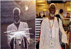 كلمات عفوية من مسن غاني كانت سببا في ذهابه لأداء فريضة الحج