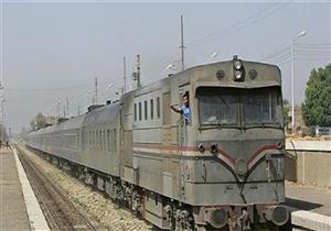 عودة حركة القطارات بعد توقف ساعتين ونصف في أبو النمرس