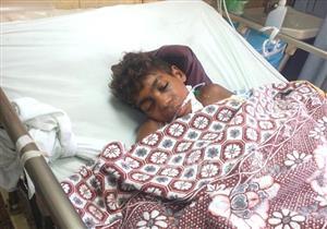 طفل الغيبوبة ضحية قطاري الإسكندرية.. في انتظار من يستدل عليه  (صور)