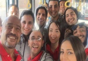 """نجوم """"مسرح مصر"""" يحتفلون بعيد الأضحى في الإسكندرية"""