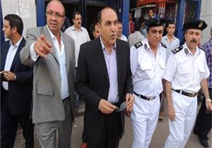 مدير شرطة النقل يتفقد محطة سكك حديد القاهرة للوقوف على استعدادت عيد الأضحى