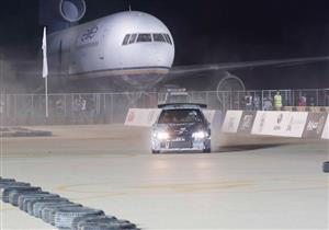 50 صورة ترصد أول سباق سيارات يُقام على أرض مطار العلمين